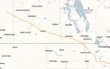 Line 3 map